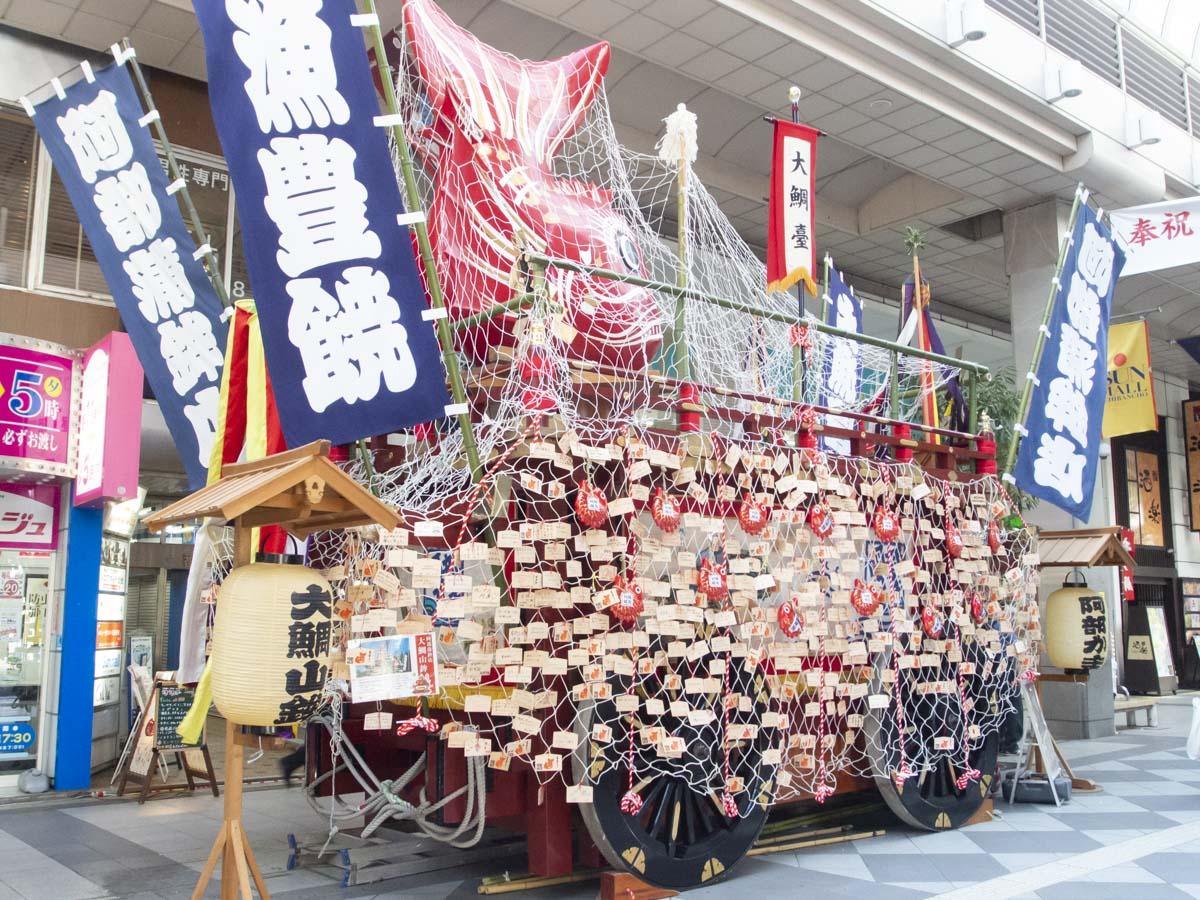 仙台・青葉まつり山鉾の写真