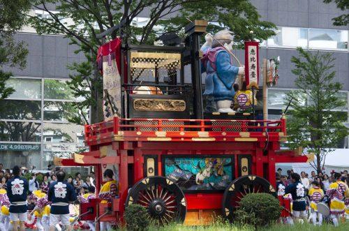 仙台・青葉まつり 山鉾(ヤマボコ)の写真