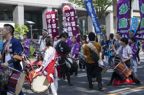仙台・青葉まつり すずめ踊りの大流しの写真