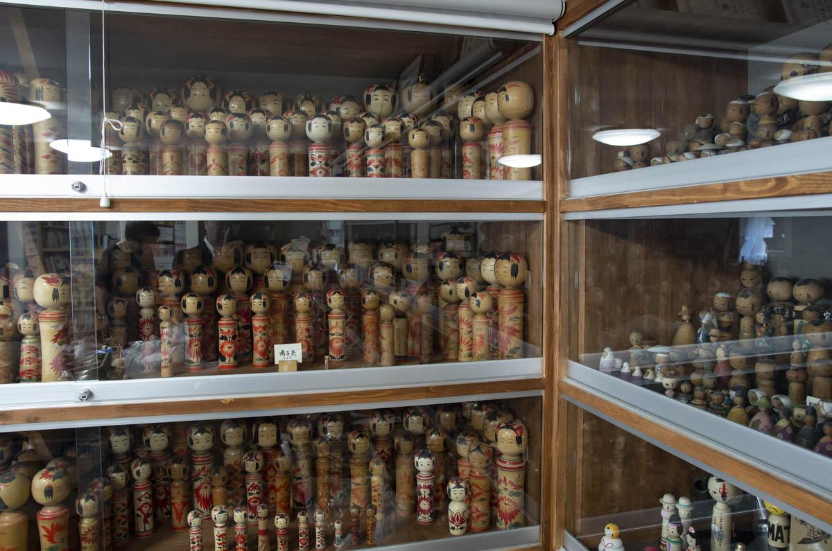 田山 和文工人の伝統こけしのコレクション(鳴子系)の写真