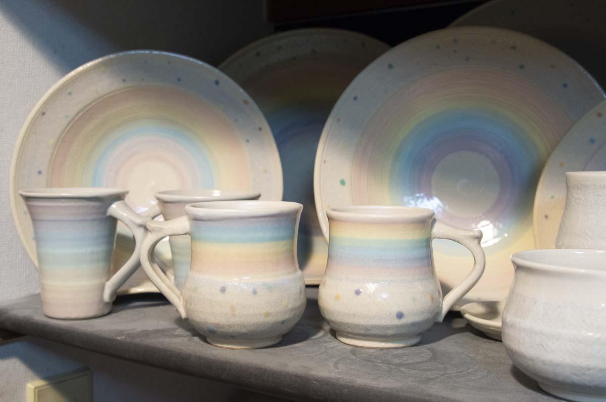 ジェームス・オペさんの陶器の写真