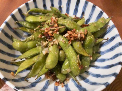 食堂goutの枝豆のペペロンチーノの写真